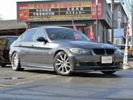 BMW 320iE90サンルーフ車高調マフラーエアロBカメラワンセグナビ 画像